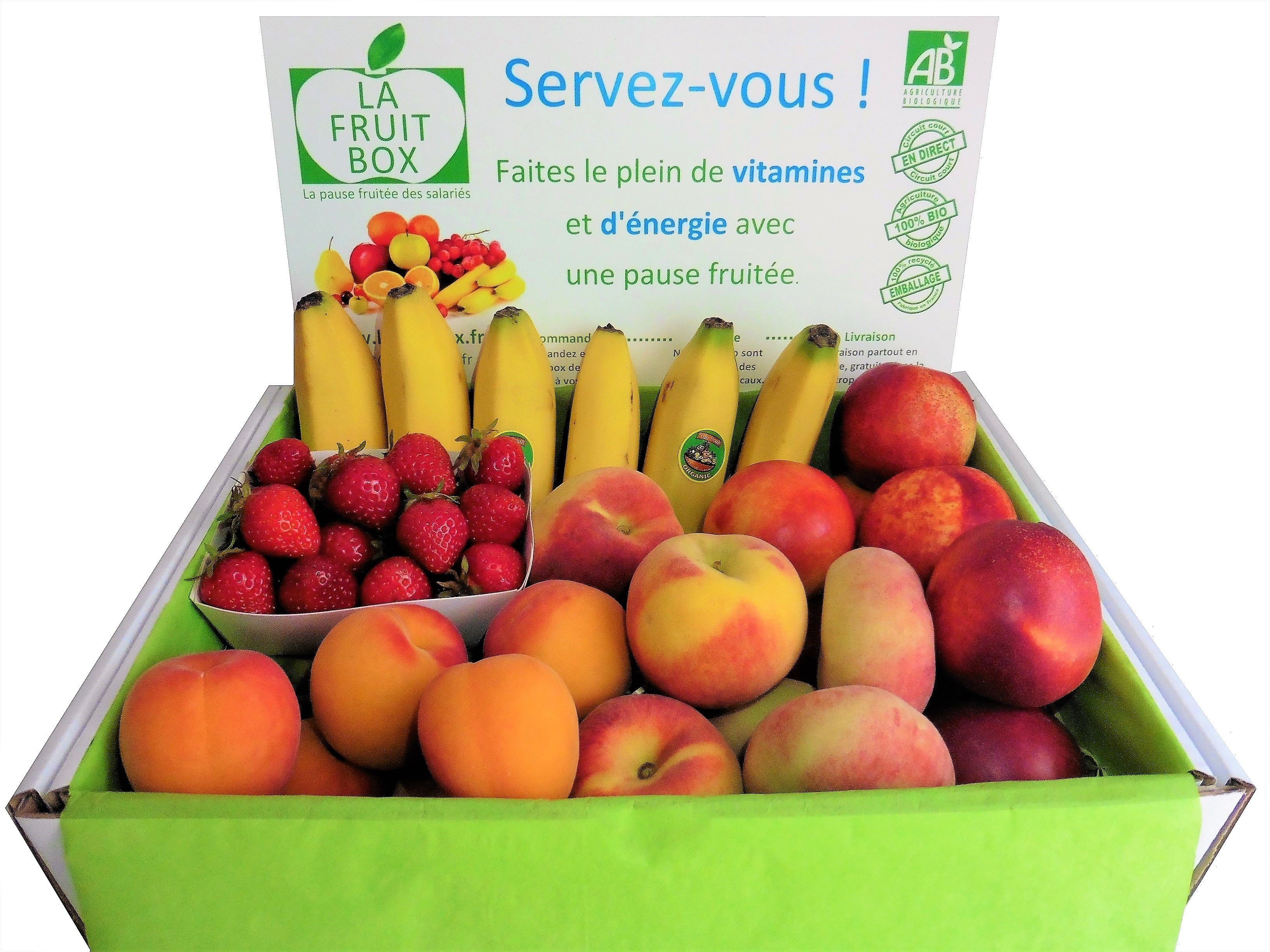 petite box 3kg fruits bio locaux lafruitbox nantes